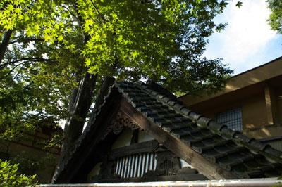 須坂藩邸の遺跡