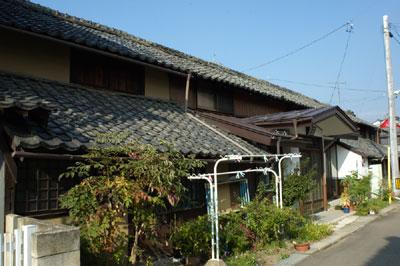 旧須坂藩足軽長屋