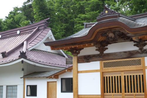 興国寺の亀と鶴