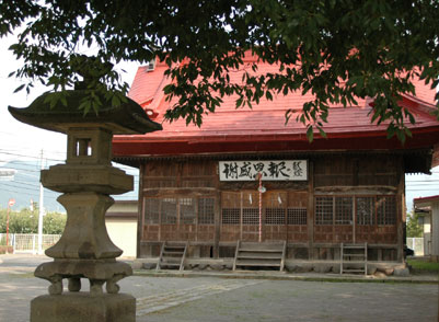 中島町の諏訪神社