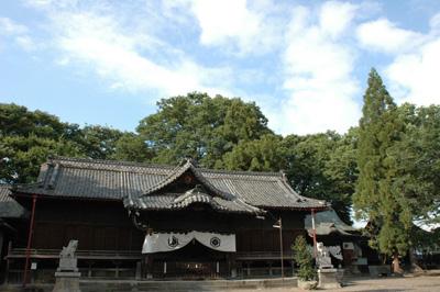 墨坂神社 芝宮